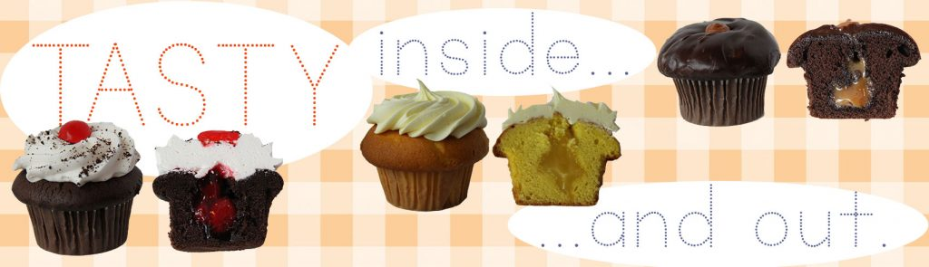 Try one of our filled cupcakes!